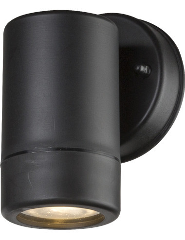 Aplica de exterior otel inoxidabil negru, 1 bec, dulie GU10, Globo 32005-1
