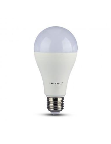 Bec led 9w cu acumulator(3 ore), cip Samsung, 9W(60W), lumina rece, V-TAC