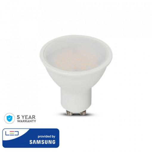 Bec led GU10, chip Samsung, 10W(70W), lumina neutra, 1000 lm, A , V-TAC