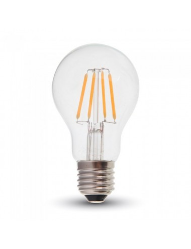 Bec led Vintage, 4W(35W), E27, 400 lm, A+, lumina calda, V-TAC