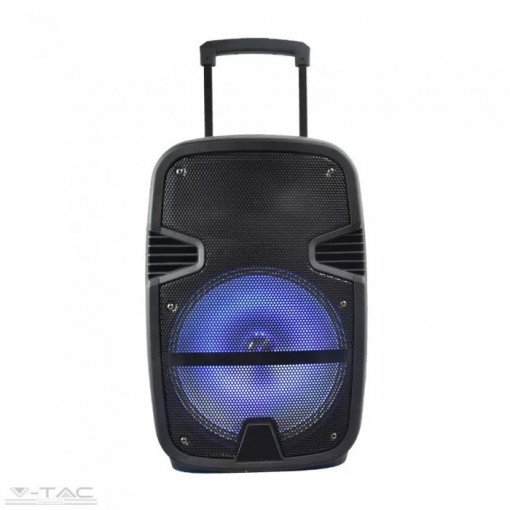 Boxa reincarcabila V-TAC, 35W, 12 inch, iluminare RGB, microfon inclus