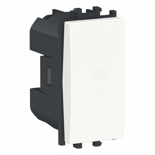 Intrerupator cap scara, 1 modul, alb, Schneider Easy Styl