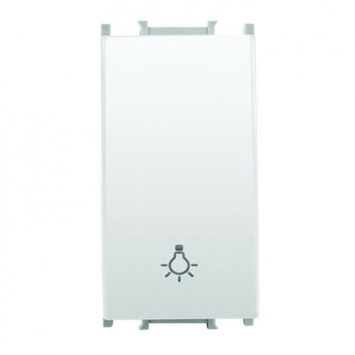 Intrerupator cu revenire 1 modul Thea Modular Panasonic, Alb