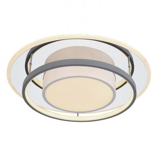 Plafoniera LED cu telecomanda Leola, putere 60W, dimabila, 48017-60R Globo