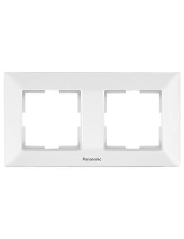 Rama 2 module orizontala IP20, Alb, Panasonic Arkedia Slim