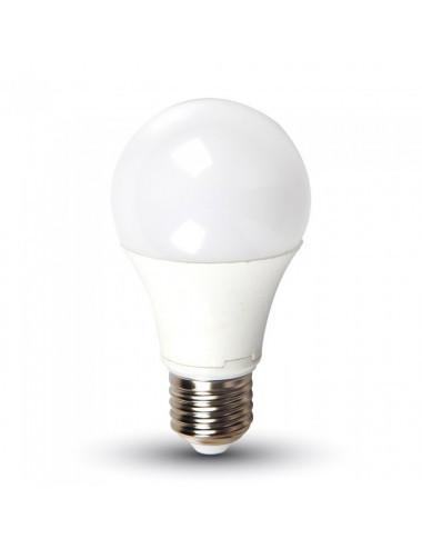 Bec led 9W(60W), E27, 806 lm, A+, lumina rece, V-TAC