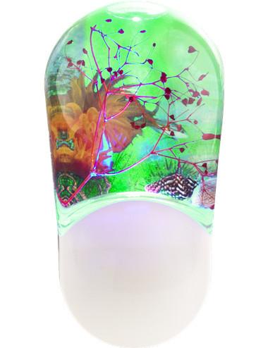 Lampa de veghe multicolora, Globo 31937