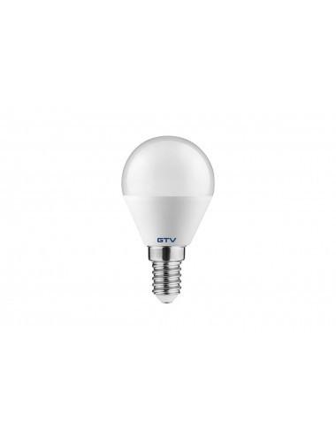 Bec led, sferic,E14, 6W(40W), lumina alba naturala, 470 lm, A+, GTV