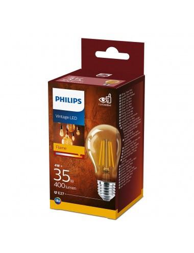 Bec led Vintage, E27, 4W(35W), lumina calda, A , Philips
