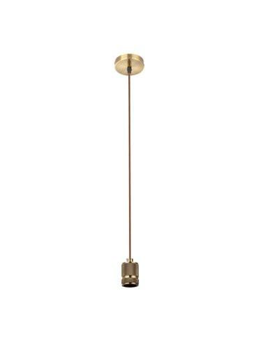 Pendul alama antic antracit, 1 bec, dulie E27, Globo A21