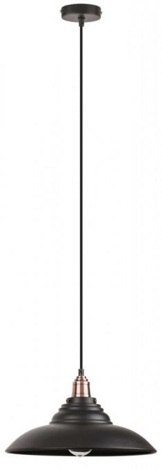 Pendul negru Vintage Doug, 2910, Rabalux