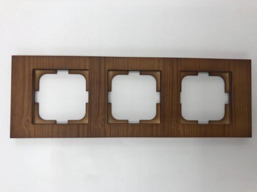 Rama 3 module orizontala, Ovivo Grano, lemn masiv