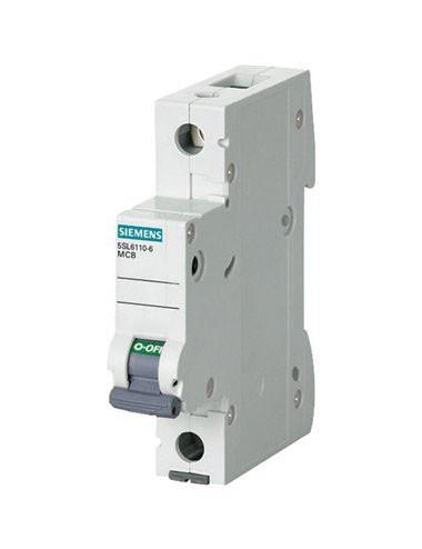 Siguranta automata 1P, 10A, curba de declansare B, capacitate de rupere 6kA, Siemens