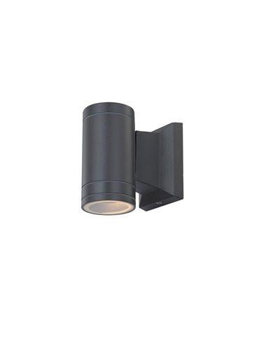 Aplica de exterior aluminiu gri, 1 bec, dulie GU10, Globo 32028