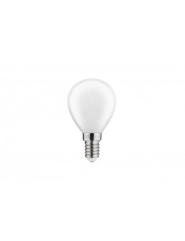 Bec led sferic, E14, 4W(40w), lumina calda, 400 lm, A+, GTV