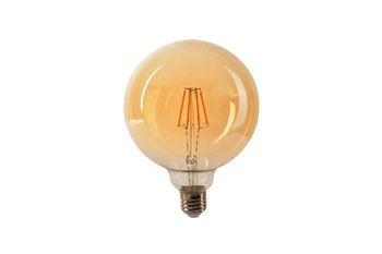 Bec LED Vintage Ledisone Retro G95, 8W(60W) auriu, lumina calda(2500K), forma glob, 800Lm, E27, Vito