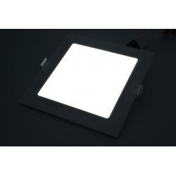 Spot led 12W Patrat 6500K, Incastrat, Panasonic