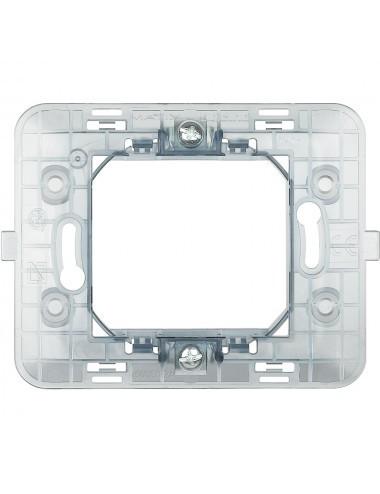 Suport 2 module, centrat, plastic, IP20, Bticino Matix
