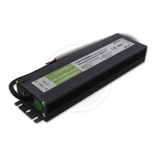 Sursa alimentare banda led protectie la umiditate IP67 12V 16.66A 200W