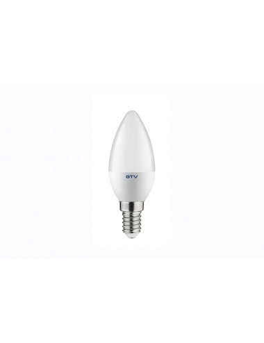Bec led E14, 8W(54W), lumina alba naturala, 4000K, 700 lm, A+, GTV