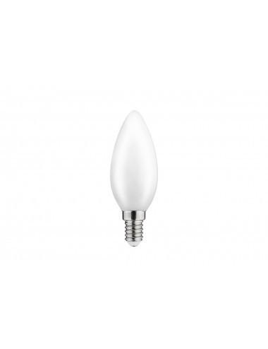 Bec led E14, lumanare, 4W(40W), lumina calda, 400 lm, A , GTV
