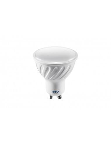 Bec led GU10, 6W(38W), 440 lm, A+, lumina rece, GTV