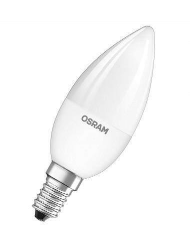 Bec LED RGB Osram lumanare, cu telecomanda, E14, 4.5W (25W), 250 lm