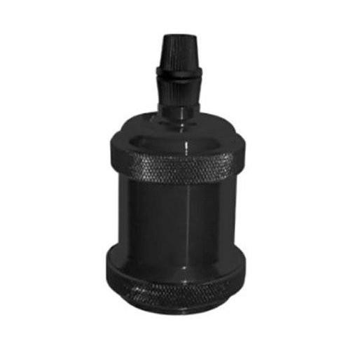 Dulie Vintage E27 din aluminiu, neagra, Lumen