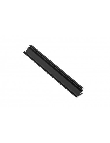Profil aluminiu banda led de colt, 2 metri, negru, GTV