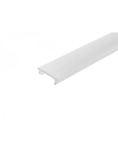 Profil aluminiu banda led incastrat, 2 metri, negru, GTV