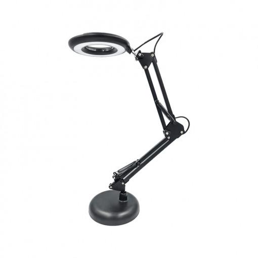 Lampa de birou 5W LED, culoarea luminii variabila, neagra, Fucida