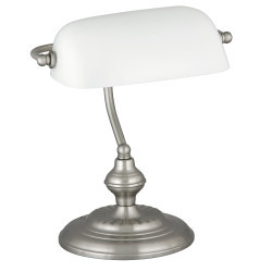 Lampa de birou Bank alba, 4037, Rabalux