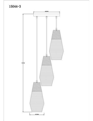 Pendul argintiu, dulie E27, Globo 15044-3