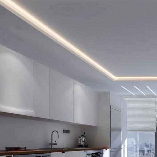 Banda led 12V 3528 60 leduri/m IP20 lumina naturala