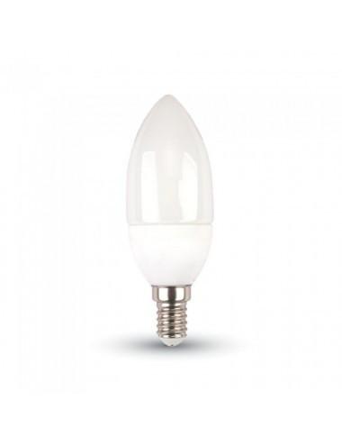 Bec led E14 lumanare, chip Samsung, 5.5W(40W), 470lm, A+, lumina alba naturala, V-TAC