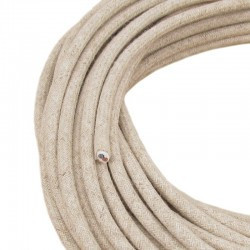 Cablu textil 2x0.75, lana