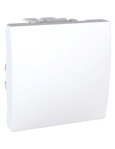 Intrerupator alternativ, 2 module, 10A, alb, Schneider Unica Allegro