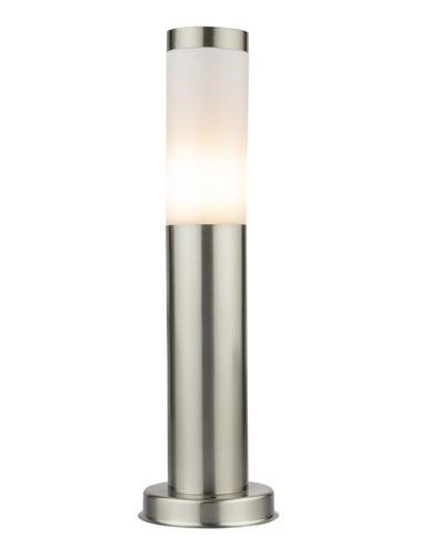Lampa de exterior otel inoxidabil opal, 1 bec, dulie E27, Globo 3158