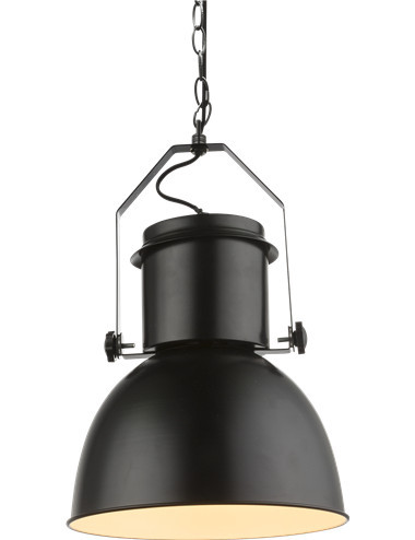 Pendul negru, 1 bec, dulie E27, Globo 15283