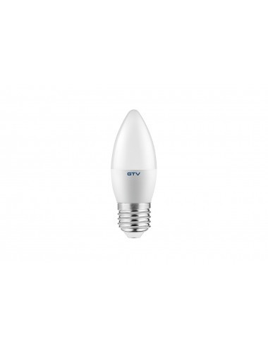 Bec led E27, 6W(40W), lumina alba naturala, 4000K, 470 lm, A+, GTV