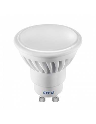 Bec led GU10, 10W(55W), lumina alba naturala, 4000K, 720 lm, A+, GTV