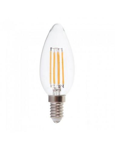 Bec Vintage led E14, 6W(45W), 600lm, A+, lumina calda, V-TAC