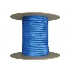 Cablu textil 2x0.75, albastru