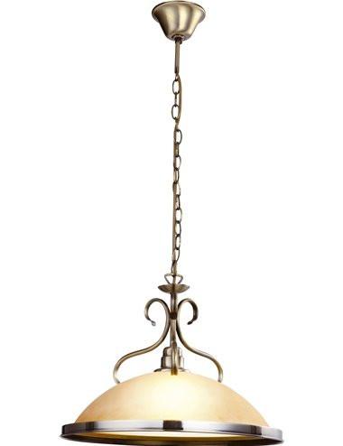 Pendul alama antica, 1 bec, dulie E27, Globo 6905