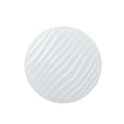 Plafoniera led 22W, rotunda, lumina rece, model valuri