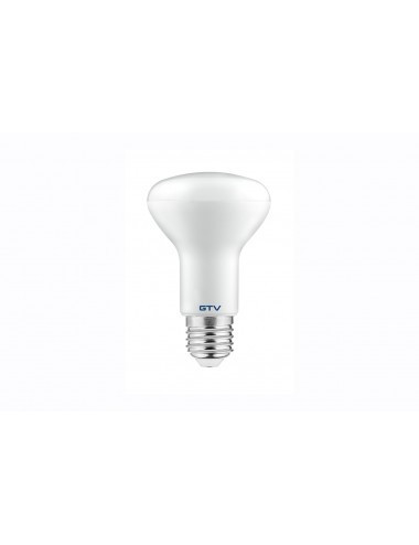Bec led spot R63, E27, 8W(50W), 640 lm, A+, lumina calda, GTV