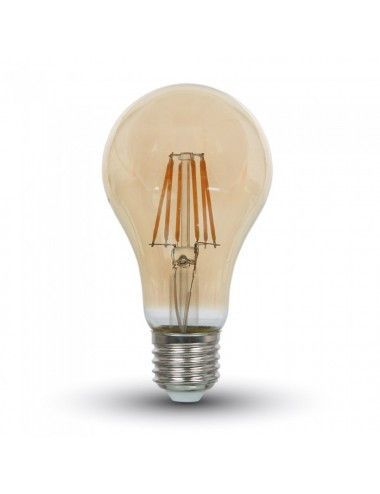Bec led Vintage, 8W(60W), E27, 800 lm, A+, lumina calda, V-TAC