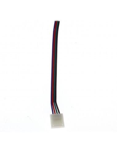 Conector banda led RGB cu 15 cm cablu