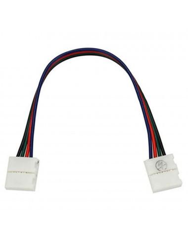 Conector dublu banda led RGB cu 15 cm cablu