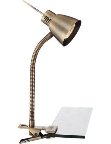 Lampa cu clema alama mata, 1 bec, dulie GU10, Globo 2477L